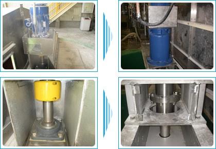 <改造事例>兵庫県内食品会社 原料攪拌機