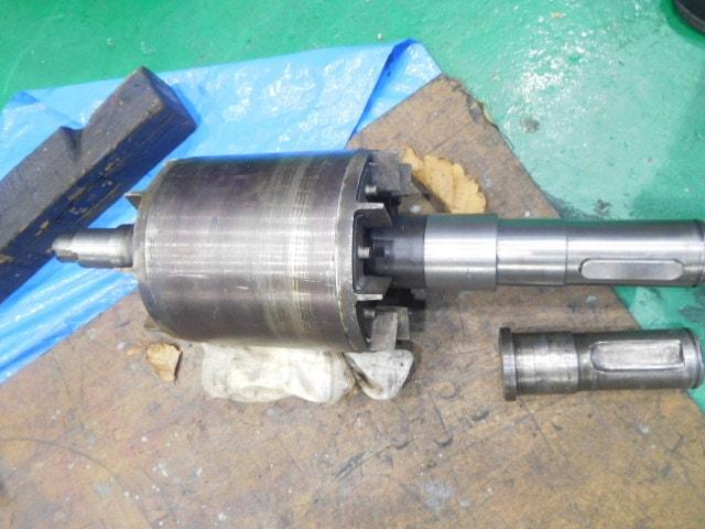 サイクロ減速機緊急修理事例(EVM20-61)