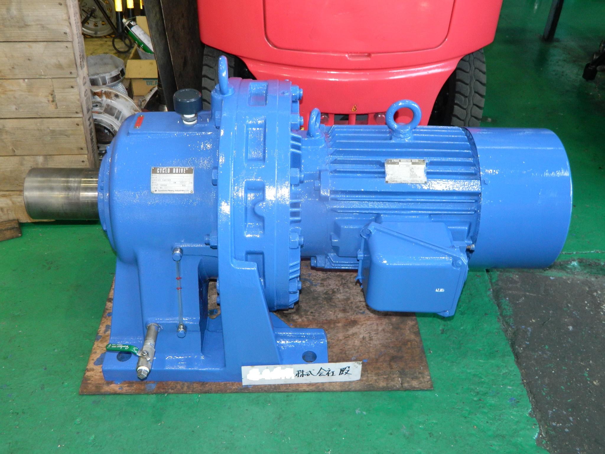 住友製サイクロ減速機(CHHM506-6245)短納期修理対応事例