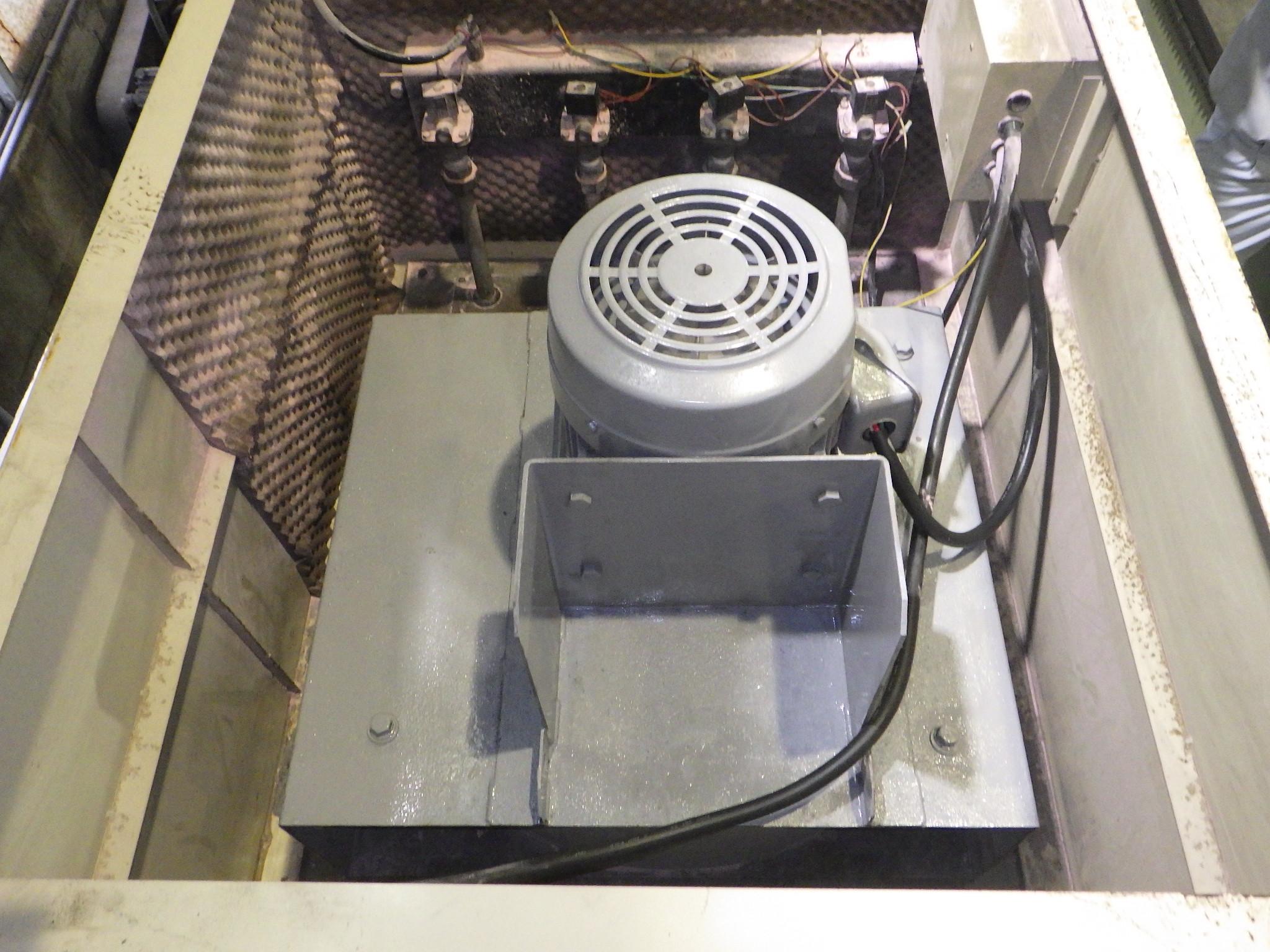 集塵装置用モーター緊急修理